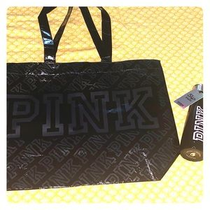 Victoria's Secret PINK Tote & S'well Water Bottle
